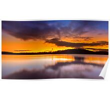 Lake Lanier Sunset II Poster
