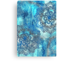 Lost in Blue - a daydream made visible Canvas Print
