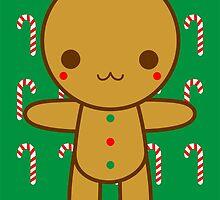 Gingerbread man by SporkandPepper