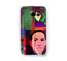 HP LOVECRAFT, AMERICAN GOTHIC WRITER, COLLAGE Samsung Galaxy Case/Skin