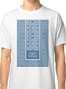 New Year; Christmas card Classic T-Shirt