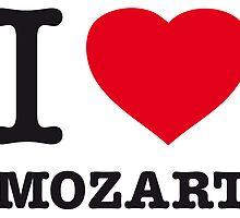 I ♥ MOZART by eyesblau