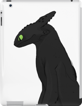 Toothless-Ipad by ImaginaryHooves