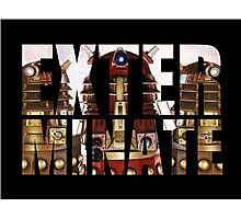 Doctor Who - Exterminate Photographic Print