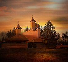 Holy Trinity Ukrainian Church  by PineSinger