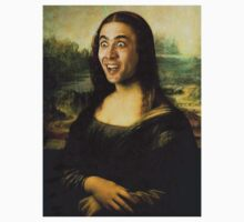 Nicolas Cage - Mona Lisa by ShaanBr