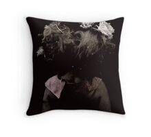Victorian hair Throw Pillow