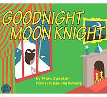Goodnight Moon Knight Photographic Print