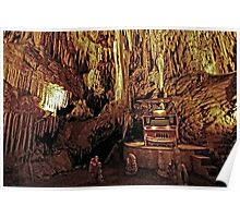 organ in the cave Poster