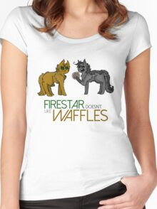 Firestar and Greystripe Women's Fitted Scoop T-Shirt