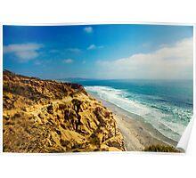 The Ocean Hills of Torrey Pines Poster