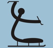 Ice Sledge Hockey Icon by cadellin