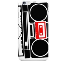 Just a Boombox! iPhone Case/Skin