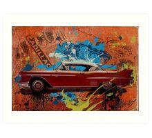 Rebirth of Cadillac Art Print