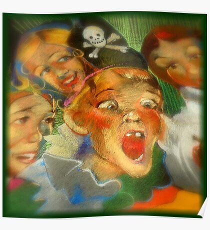 Chalk Portraits ~ Part Eleven Poster