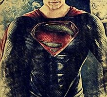 Superman/Man of Steel (Henry Cavill) by aforceofnature