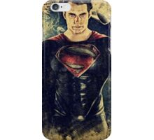 Superman/Man of Steel (Henry Cavill) iPhone Case/Skin