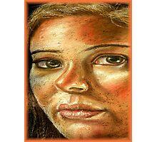 Chalk Portraits ~ Part Twelve Photographic Print