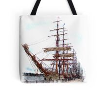 Bay City Tall Ship Celebration (2010) - East Bank - Departure Day Tote Bag