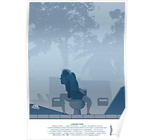 Jurassic Park Film Poster - feat Gennaro Poster