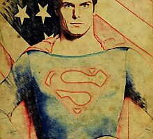Superman (Christopher Reeve) by aforceofnature