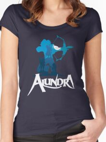 Alundra Women's Fitted Scoop T-Shirt