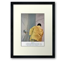 Jurassic Park - Dennis and the Dilophosaurus Framed Print