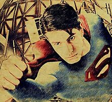 Superman Returns (Brandon Routh) by aforceofnature