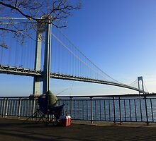 Verrazano-Narrows Bridge by Frank Garciarubio