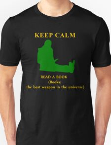 KEEP CALM & read a book Unisex T-Shirt