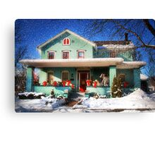 Dressed for the Holidays Canvas Print