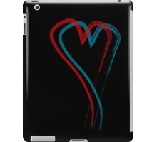 Double hearth line iPad Case/Skin