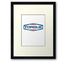 TORGUE! (clean) Framed Print