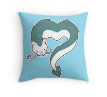 Spirited Away - Haku Dragon Throw Pillow