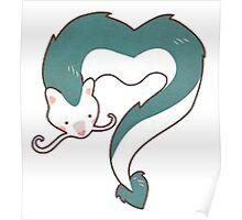 Spirited Away - Haku Dragon Poster