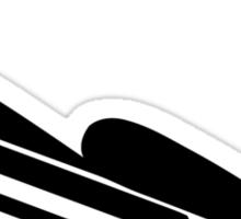Luge Icon Sticker