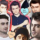 Daniel Radcliffe Collage by Crystal Friedman