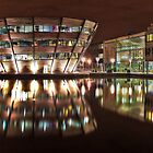 Jubilee Campus, Nottingham, at Night by pixog