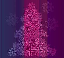 New Year background; Christmas card by alijun