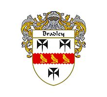 Bradley Coat of Arms/Family Crest Photographic Print