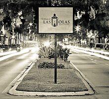 Las Olas Boulevard - B/W by Kyle Irizarry