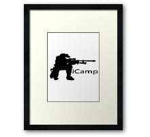 iCamp (Halo) Framed Print