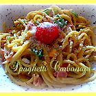 Spaghetti Carbonara by ©The Creative  Minds