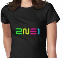 2NE1 Logo Shirt, Ver 3 Womens Fitted T-Shirt