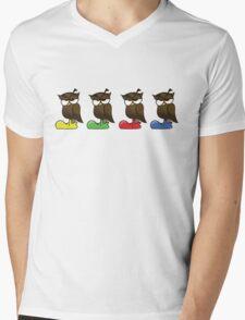 Owls Mens V-Neck T-Shirt