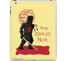 Le Chavalier Noir iPad Case/Skin