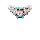 Liverpool FC badge on a white background by Paul Madden