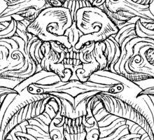 Kaiju Emblem Sticker