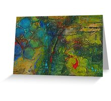 Textural Fortitude: An Earthly Perspective Greeting Card