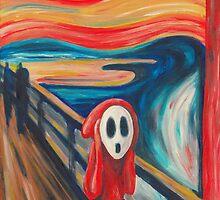 The Scream... with a Shy Guy by Katie Clark